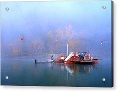 Mcclure Ferry Acrylic Print by Theresa Tahara