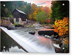 Mcconnell's Mill Fall  Acrylic Print