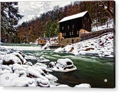 Mcconnell's Mill Acrylic Print by Marcia Colelli