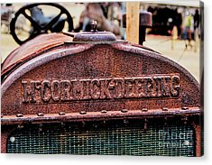 Mccormic Deering Acrylic Print by Jon Burch Photography