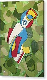 Mccoy Acrylic Print by Daniel Burtea