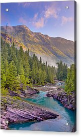 Mcdonald Creek Acrylic Print
