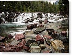 Mcdonald Creek Acrylic Print