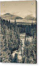 Mcdonald Creek Vertical Acrylic Print