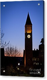 Mcgraw Tower Cornell University Acrylic Print