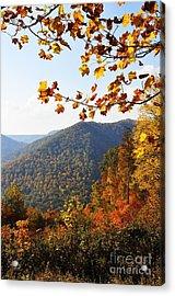 Mcguire Mountain Overlook Acrylic Print by Thomas R Fletcher