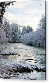 Acrylic Print featuring the photograph Mckenzie River by Belinda Greb
