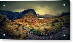 Mckinnon's Pass Panorama Acrylic Print
