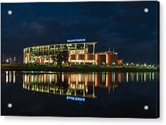 Mclane Stadium At Night Acrylic Print