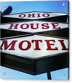 Mcm Motel Acrylic Print
