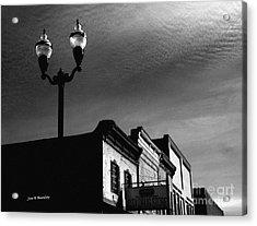 Mcminnville Skyline Acrylic Print by   Joe Beasley