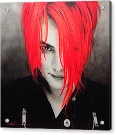 My Chemical Romance - ' M. C. R. ' Acrylic Print by Christian Chapman Art