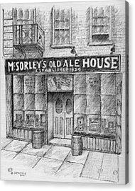 Mcsorleys Ale House Acrylic Print