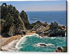 Mcway Falls Beach Acrylic Print