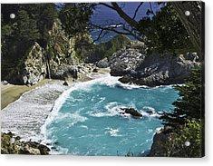 Mcway Falls - Big Sur Acrylic Print