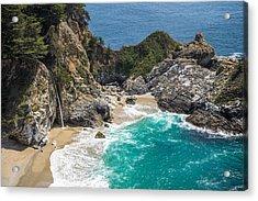 Mcway Falls Big Sur Acrylic Print