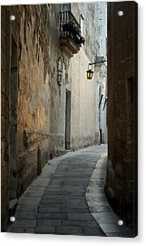 Mdina-malta Acrylic Print by Cambion Art