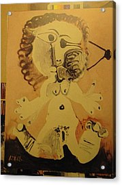 Me 12 1 68  Acrylic Print by Pablo Picasso