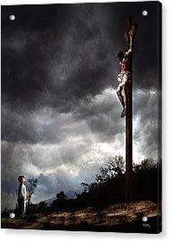 Me And Jesus Acrylic Print