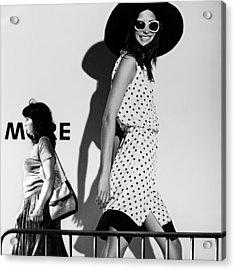 Me And My Expectations Acrylic Print by Bobby Kostadinov
