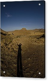 Me And My Shadow Acrylic Print by Aaron Bedell
