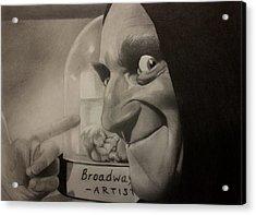 Me Brain And Igor Acrylic Print by Brian Broadway