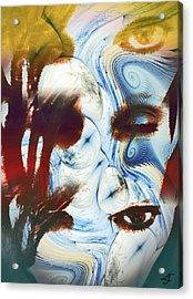 Me Myself And I Acrylic Print