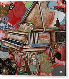 Me The Piano Acrylic Print