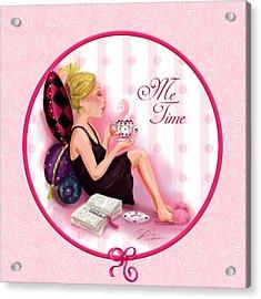Me Time Acrylic Print