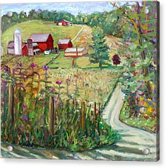 Meadow Farm Acrylic Print