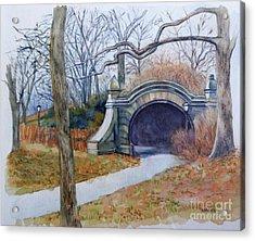 Meadowport Arch Prospect Park Acrylic Print