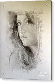 Meagan Acrylic Print
