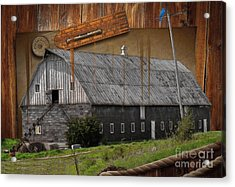 Measure Of Time Gone By Acrylic Print by Liane Wright