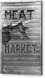 Meat Market, 1938 Acrylic Print by Granger
