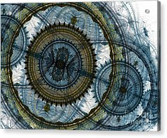 Mechanical Circles Acrylic Print