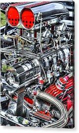 Mechanics Acrylic Print by Bill Wakeley