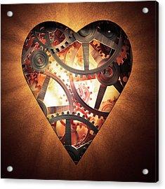 Mechanics Of The Heart Acrylic Print