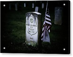 Acrylic Print featuring the photograph Medal Of Honor by Ron Roberts