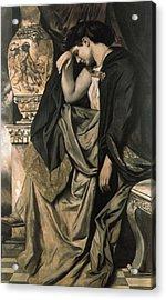 Medea Acrylic Print by Anselm Feuerbach