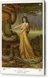 Medea, Daughter Of Aeetes King Acrylic Print by Mary Evans Picture Library