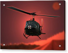 Medevac The Sound Of Hope Acrylic Print by Thomas Woolworth