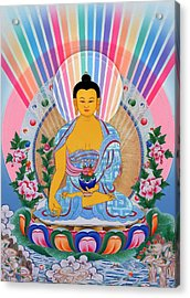 Medicine Buddha 1 Acrylic Print