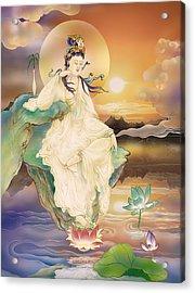 Medicine-giving Kuan Yin Acrylic Print