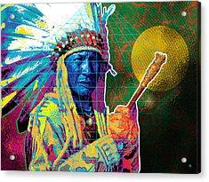 Medicine Man Acrylic Print