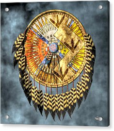 Medicine Shield Acrylic Print