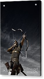 Medieval Archer II Acrylic Print by Holly Martin