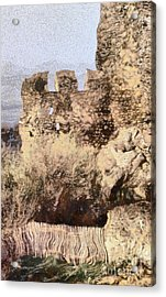 Medieval Castle Of Holloko Hungary Acrylic Print by Odon Czintos