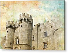 Medieval City Of Rhodes Acrylic Print