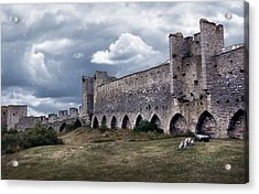 Medieval City Wall Defence Acrylic Print