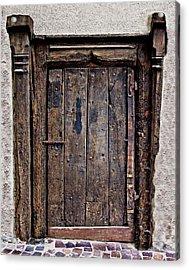 Medieval Door Acrylic Print